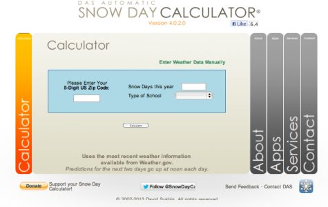Can the Snow Day Calculator Predict Our Next Day Off?