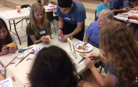 SOAR Peer Leaders Spread Goodwill at Bauer Center