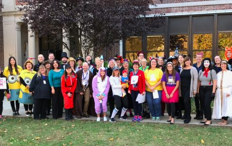 Faculty Photo from Halloween at MMS