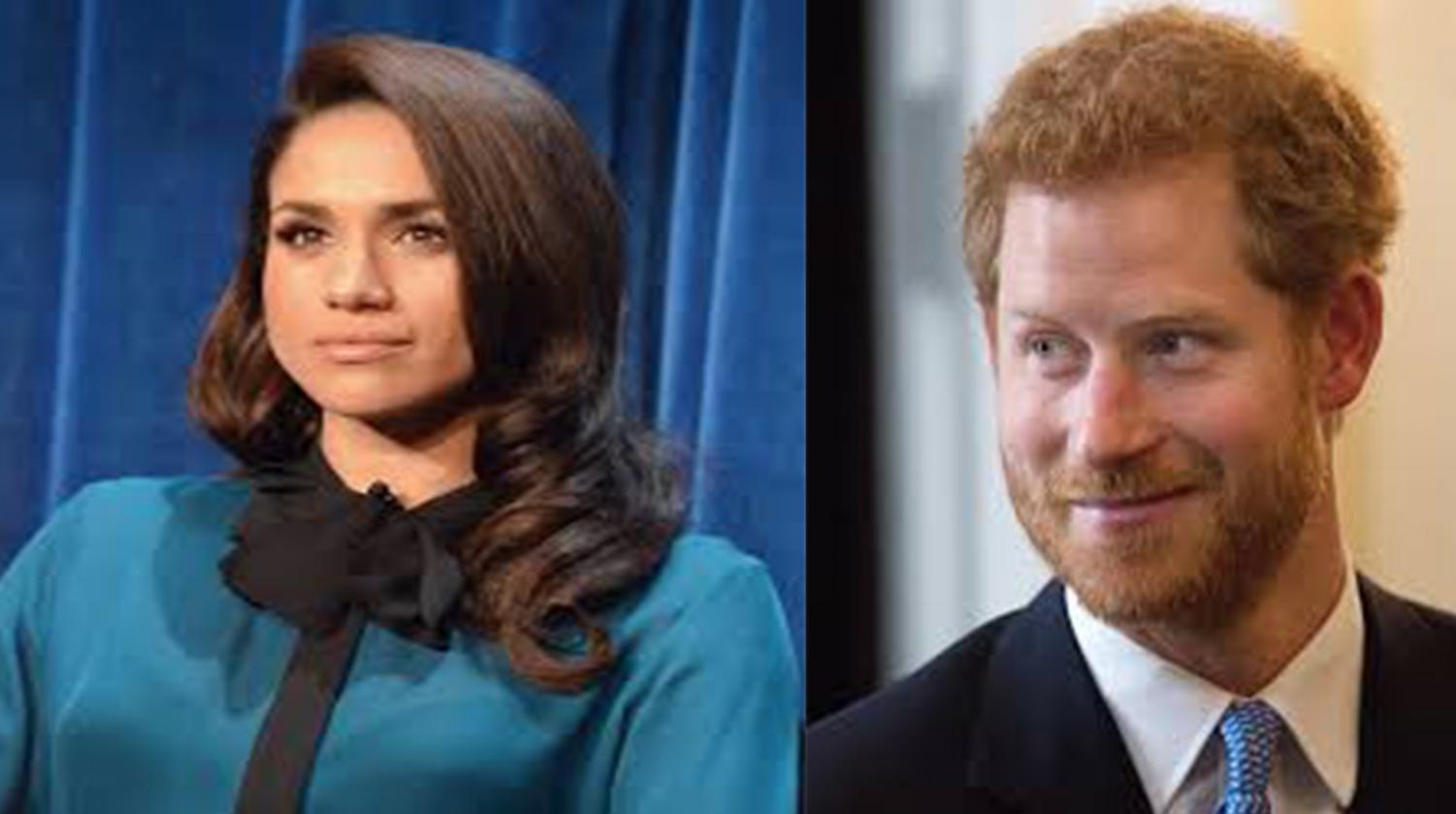 Meghan Markle and Prince Harry. Photo credit (Genevieve -Markle photo) and (E.J. Hersom - Harry)