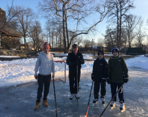 Remember When It Was Cold? Area Pond Hockey Players Do