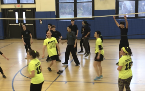 The Student-Faculty Volleyball Tournament