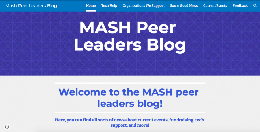 MASH Peer Leaders expand online presence